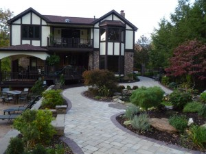 paving stone walkways and driveways