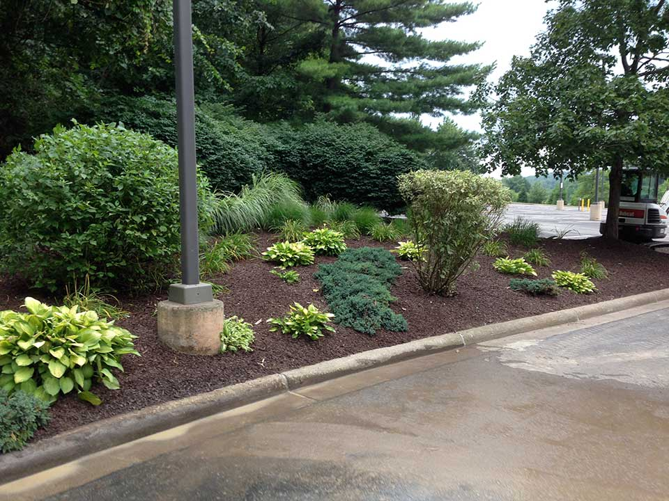 Pittsburgh residential landscaping residential landscape for Residential landscape design
