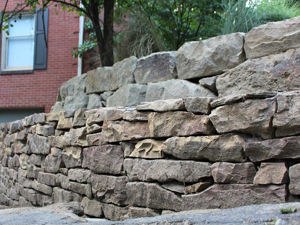 How To Build A Wet Stacked Retaining Wall