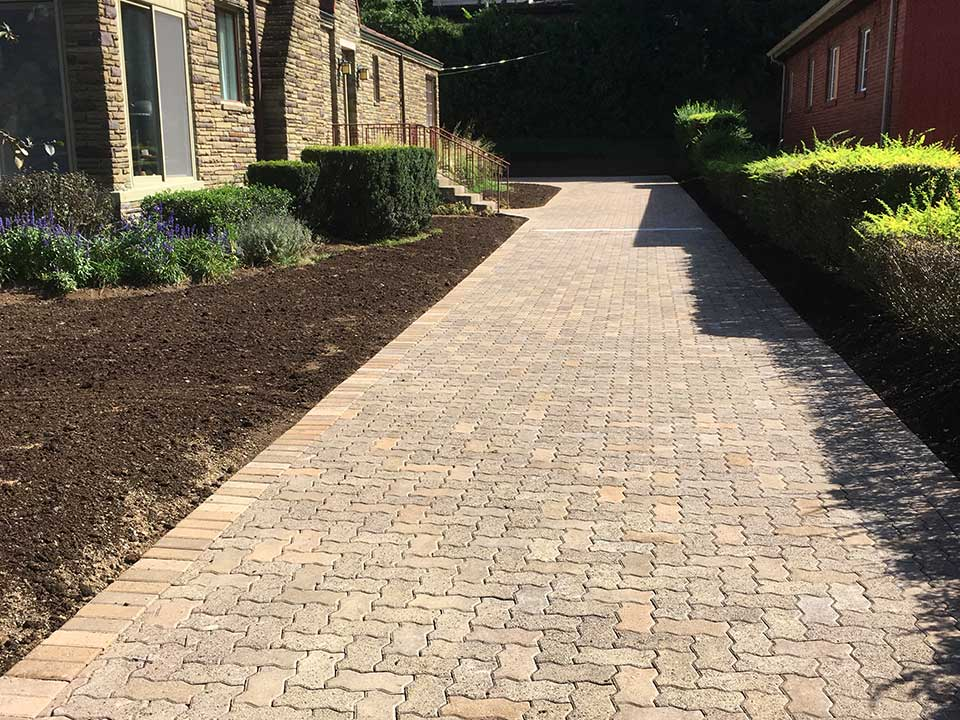 Driveway Contractors Pittsburgh Paver Driveway
