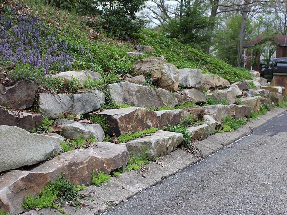 Natural Stone Retaining Walls 4