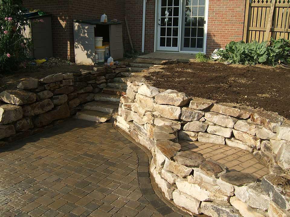 Natural Stone Retaining Walls 9