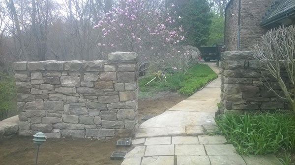 Retaining Wall Pittsburgh Pa Stone Retaining Wall Cost